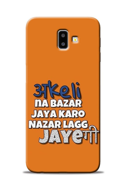 Akeli Na Jaya Karo Samsung Galaxy J6 Plus Mobile Back Cover