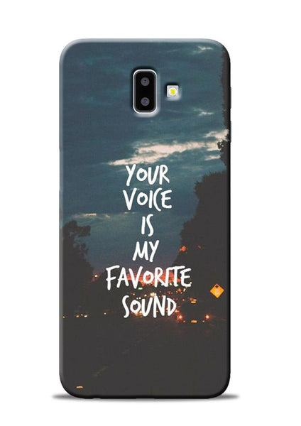 Your Voice Samsung Galaxy J6 Plus Mobile Back Cover