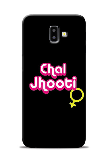 Chal Jhooti Samsung Galaxy J6 Plus Mobile Back Cover