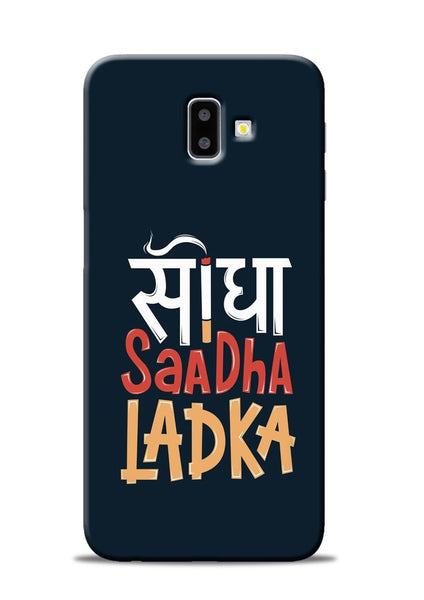 Saadha Ladka Samsung Galaxy J6 Plus Mobile Back Cover