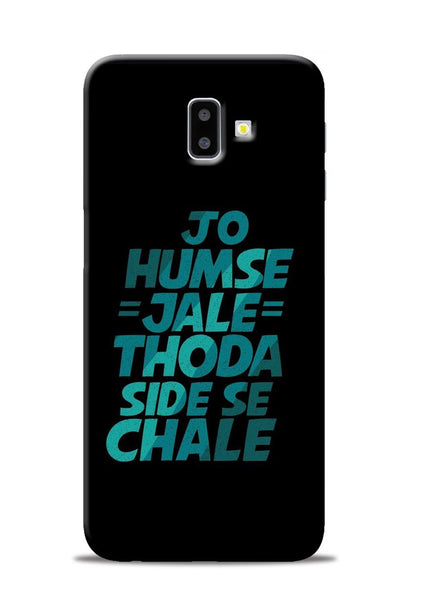 Jo Humse Jale Samsung Galaxy J6 Plus Mobile Back Cover