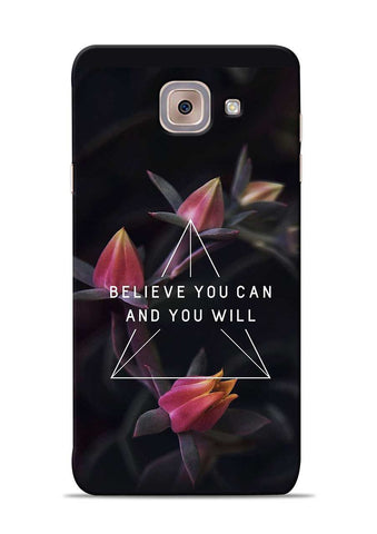 Believe You Will Samsung Galaxy J7 Max Mobile Back Cover