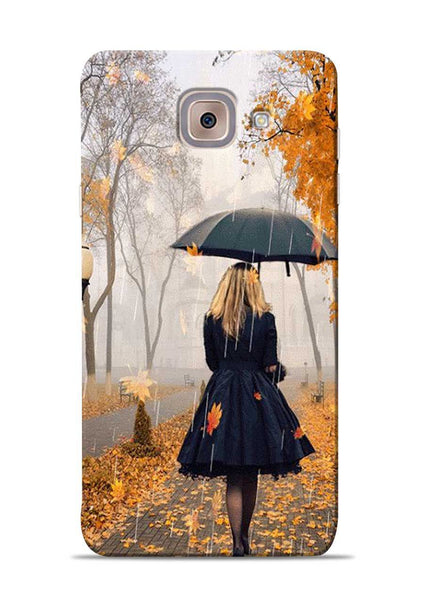 Walk In A Rain Samsung Galaxy J7 Max Mobile Back Cover