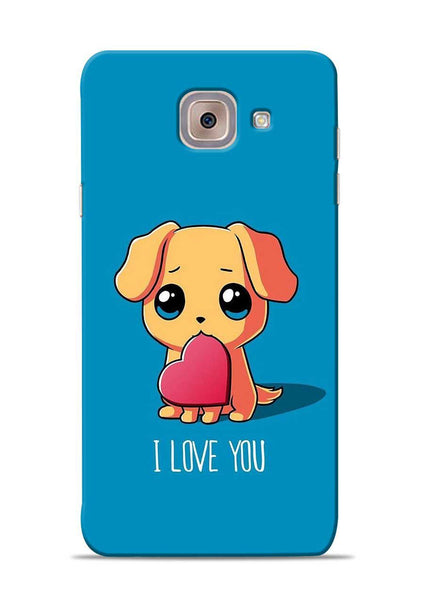 The Love Samsung Galaxy J7 Max Mobile Back Cover