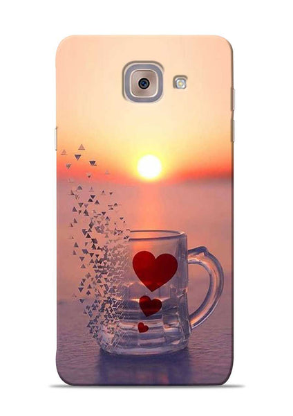 The Hearts Samsung Galaxy J7 Max Mobile Back Cover