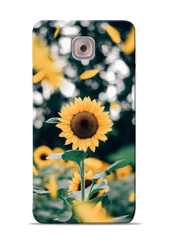 Sun Flower Samsung Galaxy J7 Max Mobile Back Cover