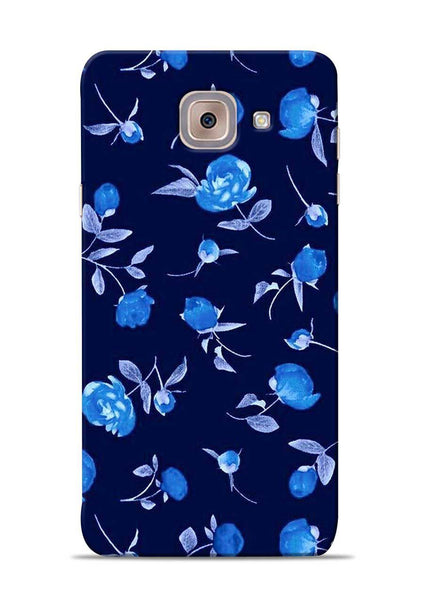 The Blue Flower Samsung Galaxy J7 Max Mobile Back Cover