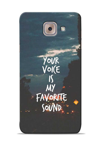 Your Voice Samsung Galaxy J7 Max Mobile Back Cover