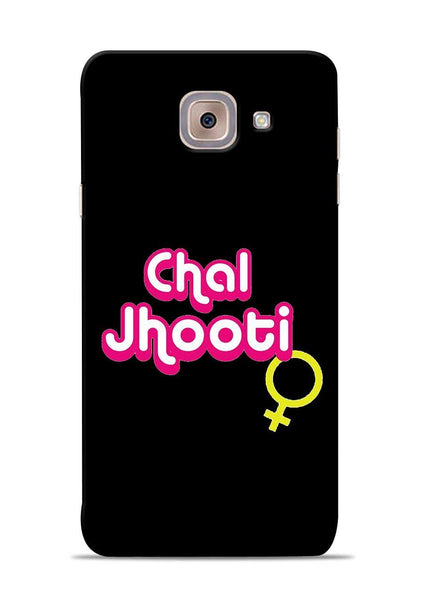 Chal Jhooti Samsung Galaxy J7 Max Mobile Back Cover