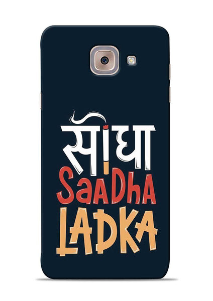 Saadha Ladka Samsung Galaxy J7 Max Mobile Back Cover