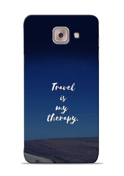Travel Is My Therapy Samsung Galaxy J7 Max Mobile Back Cover