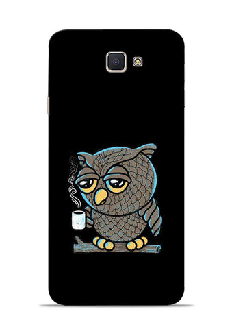 Sleepy Owl Samsung Galaxy J7 Prime Mobile Back Cover