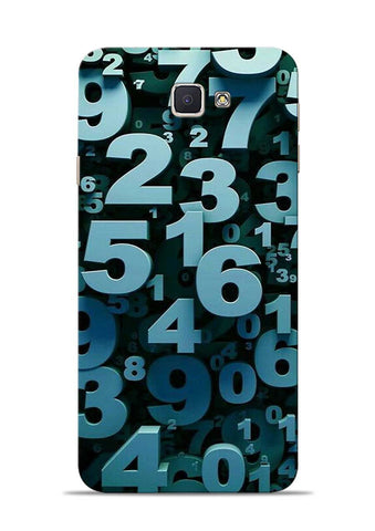 The Numbers Samsung Galaxy J7 Prime Mobile Back Cover