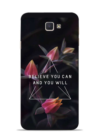 Believe You Will Samsung Galaxy J7 Prime Mobile Back Cover