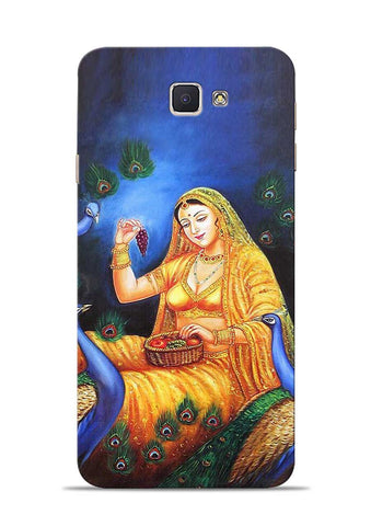 The Peacock Samsung Galaxy J7 Prime Mobile Back Cover