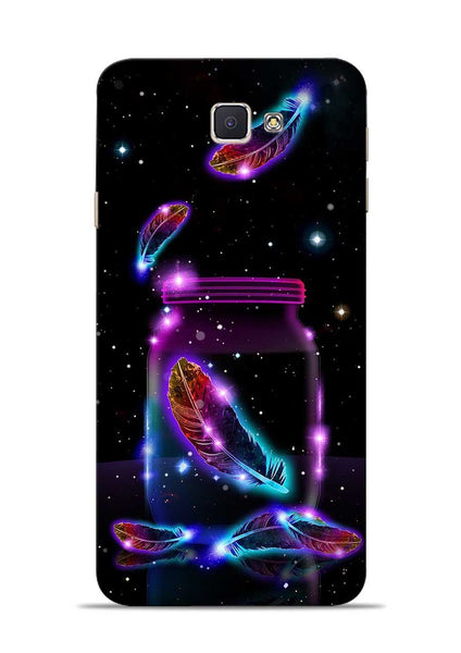 Glowing Bird Fur Samsung Galaxy J7 Prime Mobile Back Cover