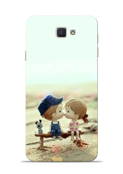 The First Kiss Samsung Galaxy J7 Prime Mobile Back Cover