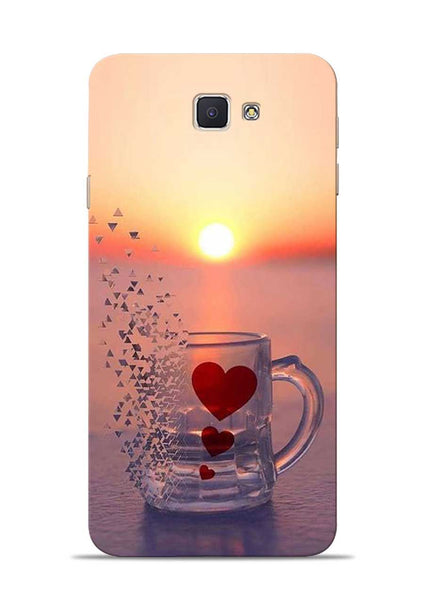 The Hearts Samsung Galaxy J7 Prime Mobile Back Cover