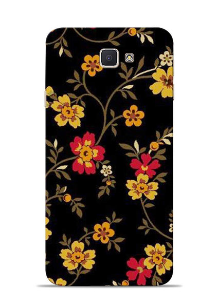 Rising Flower Samsung Galaxy J7 Prime Mobile Back Cover