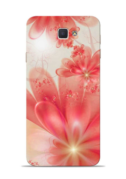 Glowing Flower Samsung Galaxy J7 Prime Mobile Back Cover