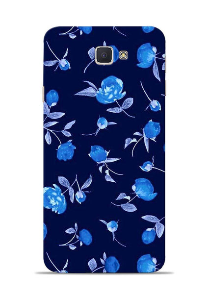 The Blue Flower Samsung Galaxy J7 Prime Mobile Back Cover