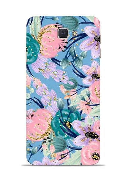 Lovely Flower Samsung Galaxy J7 Prime Mobile Back Cover