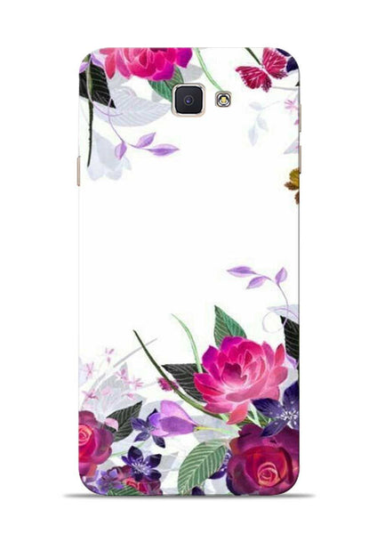The Great White Flower Samsung Galaxy J7 Prime Mobile Back Cover