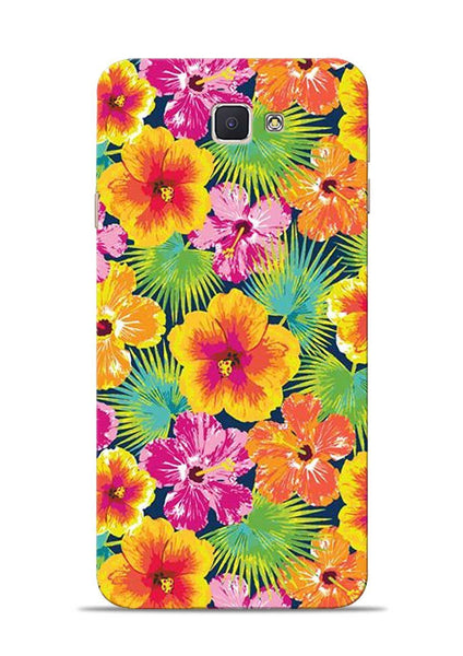 Garden Of Flowers Samsung Galaxy J7 Prime Mobile Back Cover