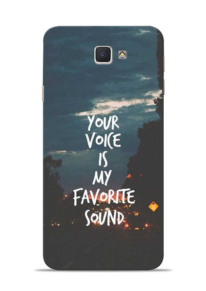 Your Voice Samsung Galaxy J7 Prime Mobile Back Cover