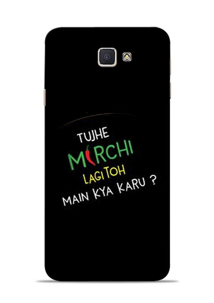 Mirchi Lagi To Samsung Galaxy J7 Prime Mobile Back Cover