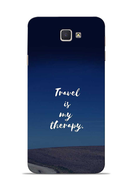 Travel Is My Therapy Samsung Galaxy J7 Prime Mobile Back Cover