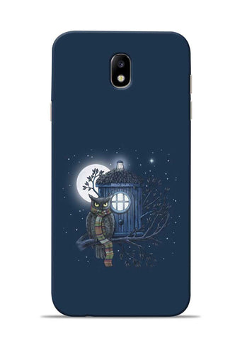 Night Owl Samsung Galaxy J7 Pro Mobile Back Cover