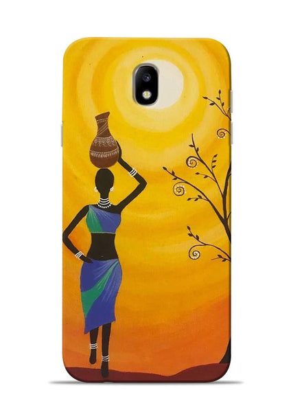 Fetching Water Samsung Galaxy J7 Pro Mobile Back Cover