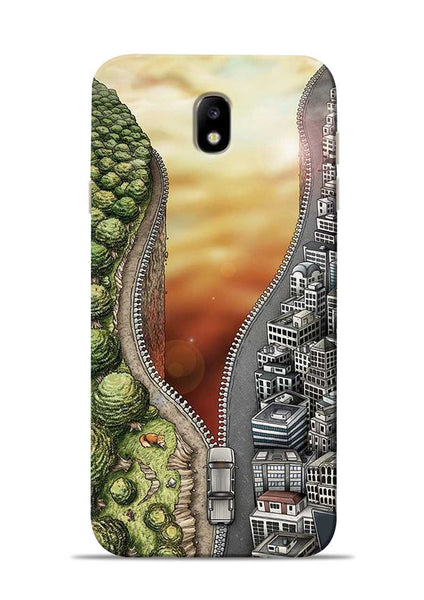 Forest City Samsung Galaxy J7 Pro Mobile Back Cover