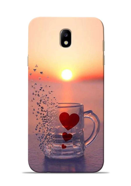 The Hearts Samsung Galaxy J7 Pro Mobile Back Cover