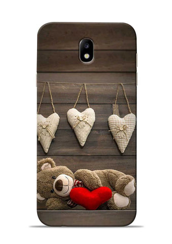 Teddy Love Samsung Galaxy J7 Pro Mobile Back Cover
