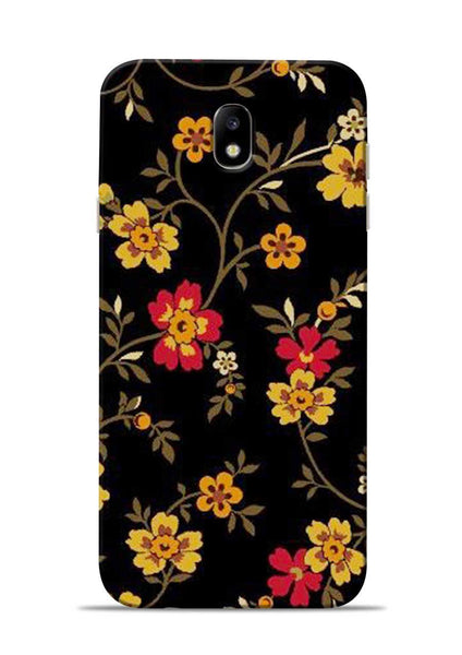 Rising Flower Samsung Galaxy J7 Pro Mobile Back Cover