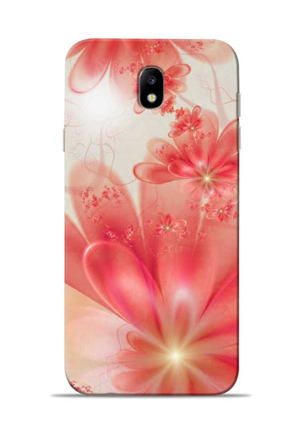 Glowing Flower Samsung Galaxy J7 Pro Mobile Back Cover
