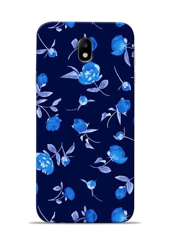 The Blue Flower Samsung Galaxy J7 Pro Mobile Back Cover