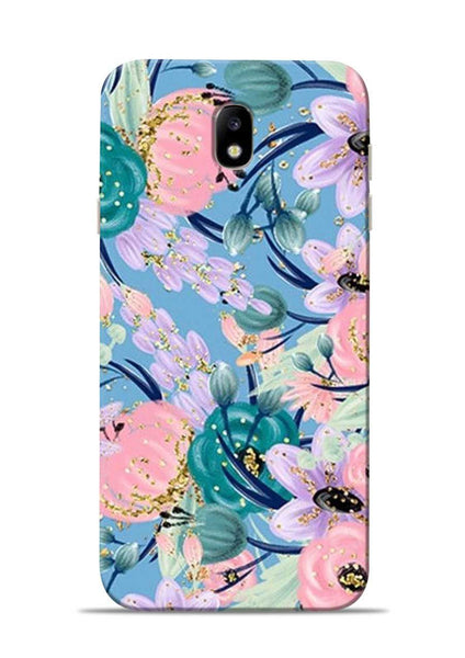 Lovely Flower Samsung Galaxy J7 Pro Mobile Back Cover