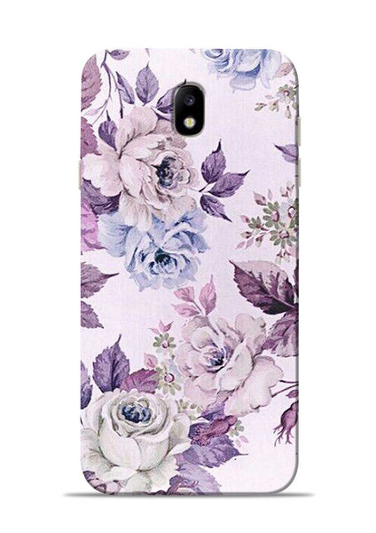 Flowers Forever Samsung Galaxy J7 Pro Mobile Back Cover