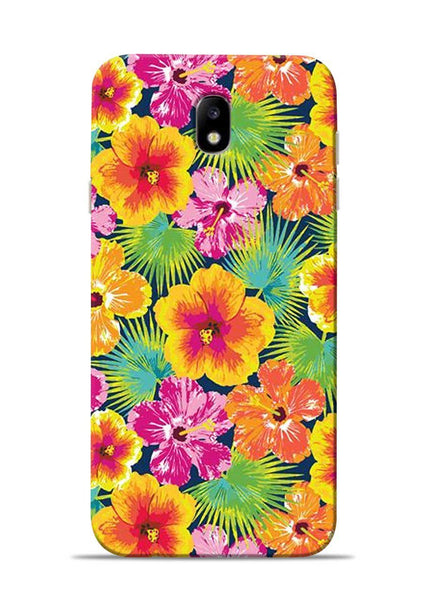 Garden Of Flowers Samsung Galaxy J7 Pro Mobile Back Cover