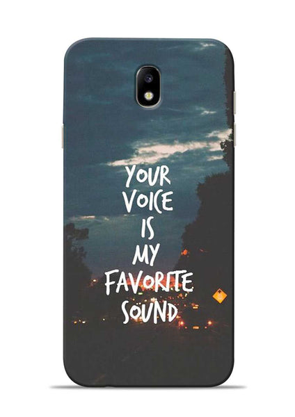 Your Voice Samsung Galaxy J7 Pro Mobile Back Cover