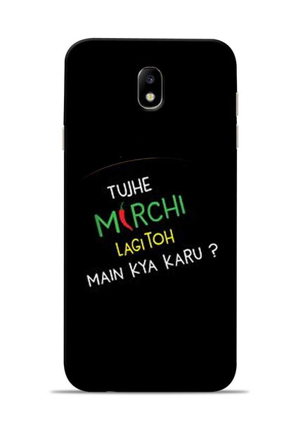 Mirchi Lagi To Samsung Galaxy J7 Pro Mobile Back Cover