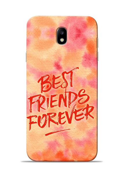 Best Friends Forever Samsung Galaxy J7 Pro Mobile Back Cover