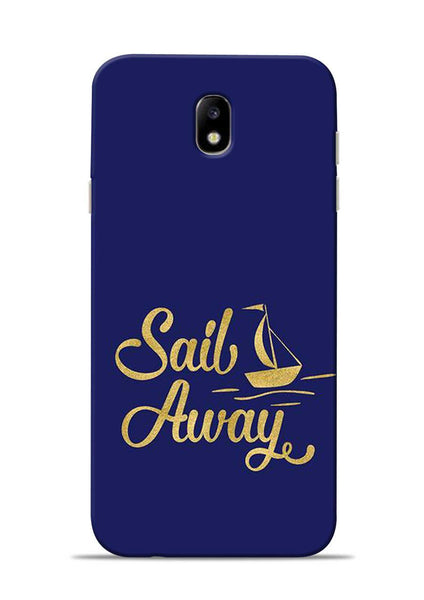 Sail Always Samsung Galaxy J7 Pro Mobile Back Cover