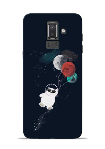 Panda Astronaut Samsung Galaxy J8 Mobile Back Cover