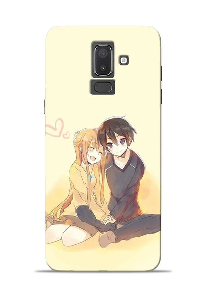 Iam In Love Samsung Galaxy J8 Mobile Back Cover