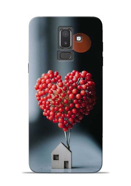 The lovely Berries Samsung Galaxy J8 Mobile Back Cover