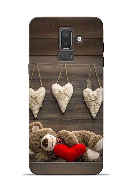 Teddy Love Samsung Galaxy J8 Mobile Back Cover